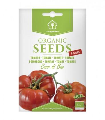 """Tomate """"Cuor di bue"""", Biologisches Saatgut von Minigarden"""
