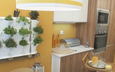 """""""Querido, mudei a casa"""" empfiehlt einen vertikalen Gemüsegarten in der Küche"""